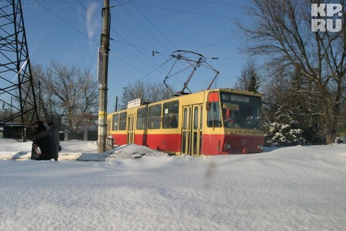 Весь общественный транспорт