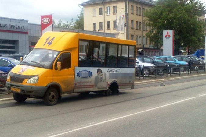 Маршрутки покидают улицы Твери